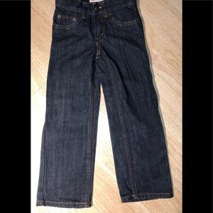 Boys Levi's 505 Regular Jeans 5 Slim. 100% cotton